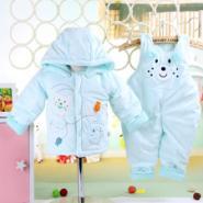 禹诺千金1720婴童棉衣两件套图片