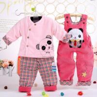 泽贝酷2012婴童棉服三件套