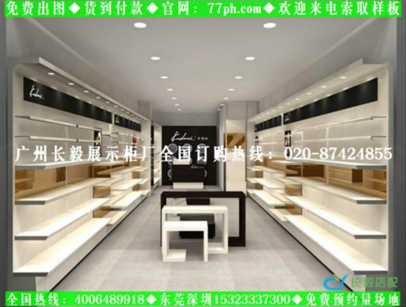 小型鞋店装修效果图鞋店装修设计鞋店专用鞋架鞋柜鞋子展高清图片