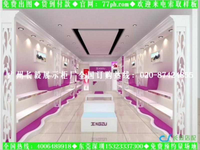 外贸鞋店装修效果图大全小型鞋店装修设计女鞋店装修图图片 高清图片