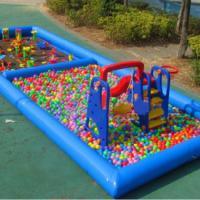 郑州童话游乐供应充气沙池组合乐园