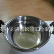 特厚优质不锈钢蒸炖锅蒸汤双耳锅图片