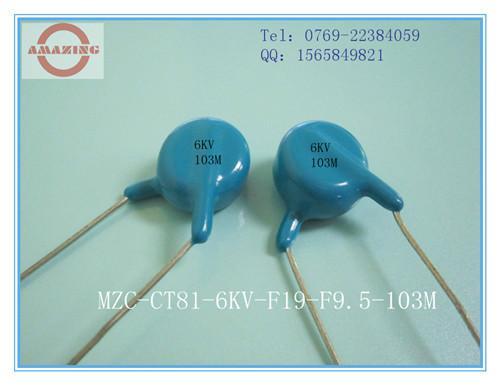供应CT81-6KV472M高压陶瓷电容