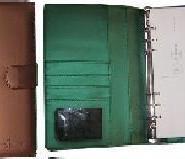 生产高档商务变色pu记事本图片
