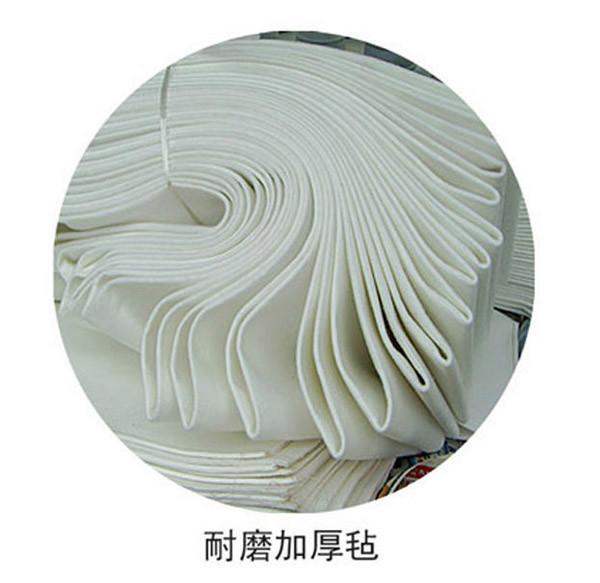 供应水泥立磨除尘器专用涤纶针刺毡滤袋