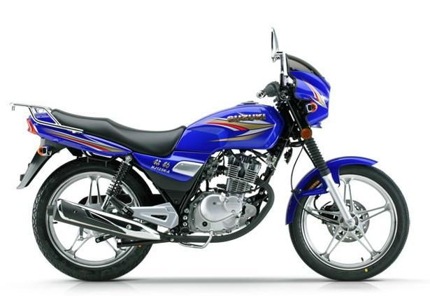 含高椹a�:#k_豪爵铃木钻豹hj125k-a摩托车图片