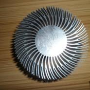 太阳花散热铝型材LED灯饰散热图片