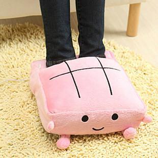 暖脚宝 电暖鞋发热垫 暖脚垫暖脚鞋 插电USB加热鞋电热拖鞋