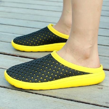 洞洞鞋 鸟巢拖鞋男潮拖鞋 夏季男士拖鞋凉鞋凉拖 夏日沙滩鞋