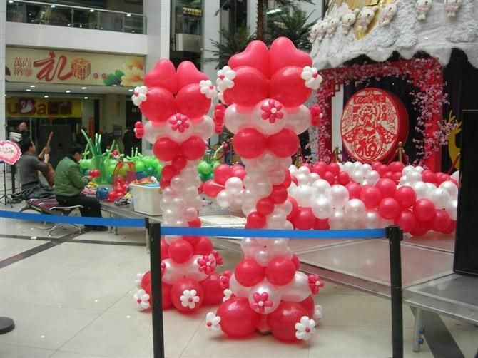 供应惠州贺新年财神爷气球造型