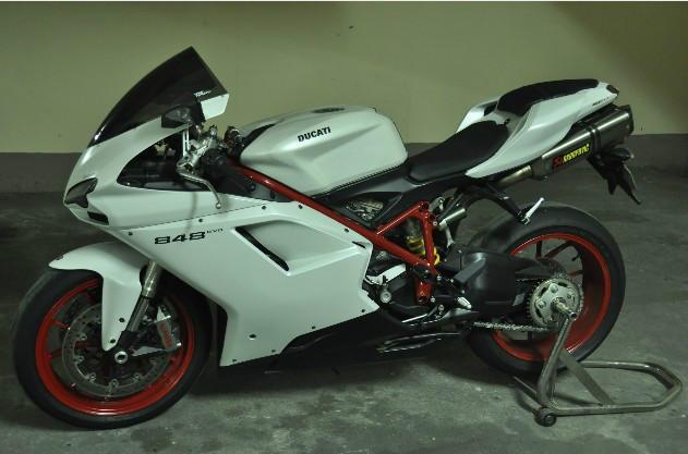 供应摩托车杜卡迪848,摩托车网购网站,重型摩托车跑车报价价格图片