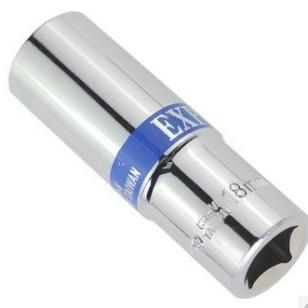 威力12角公制镜面蓝带长套筒图片