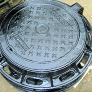 球墨井盖铸铁井盖图片