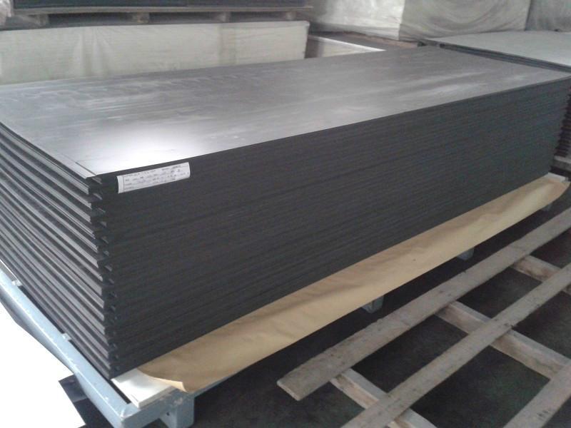 3MM黑色广告板雕刻板材PVC发泡板销售