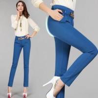 依莱雅春季新款女式OL休闲裤