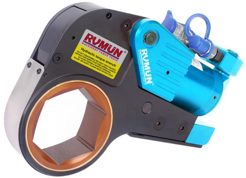 供应超大力矩液压扳手,中空液压扳手,超薄中空液压扭矩扳手