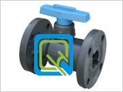供应pvc隔膜閥 G41F-10S 防腐隔膜閥 PVC法兰隔膜閥