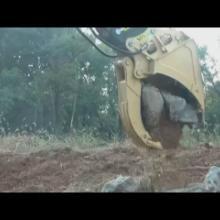 供应挖掘机挖斗,金浦挖掘机挖斗夹子,压力200,容量1方批发