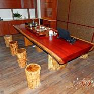 红木茶台茶桌/休闲画案桌图片