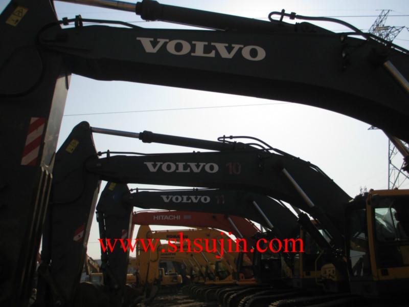 沃尔沃挖掘机沃尔沃挖掘机供货商.内蒙古二手沃尔沃ec480dl高清图片