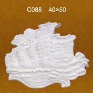 石膏壁饰图片