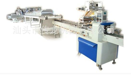 供应半自动蛋黄派生产线 汕头传龙食品机械生产厂家