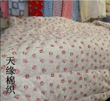 供应天缘纺织纯棉印花纱布