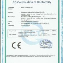 提供筒灯CE认证