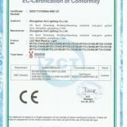 110V球泡灯CE认证图片