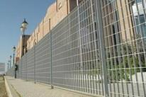供应钢格栅围栏图片