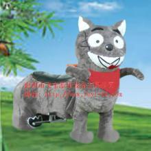 供应电动毛绒仿真动物动漫造型车-广场-公园-小区儿童游乐车图片