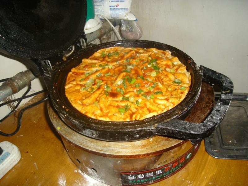 培训王师傅手抓饼酱香饼胡辣汤水煎包千层饼的做法制作