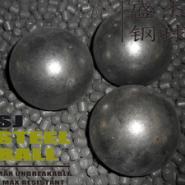 耐磨钢球磨煤机用锻打钢球图片