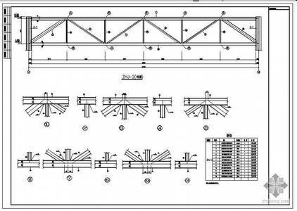 大跨度厂房结构设计_大跨度桁架结构设计v跨度图纸彩钢桁架圆顶图片