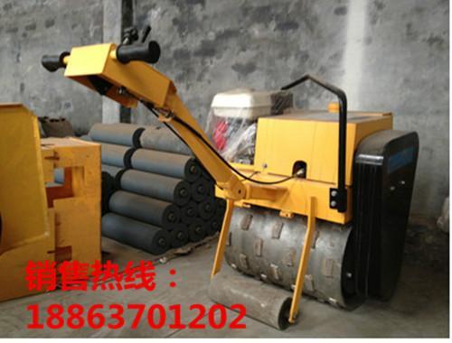 新疆供应小型单钢轮回填土压实机价格型号