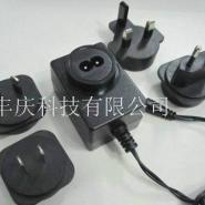 变换头插墙式电源适配器图片