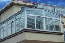 上海岸谷阳光房铝合金型材图片