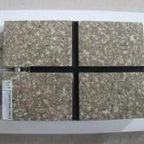 供应仿黄金麻保温装饰一体化板(水包漆仿石材+硅钙板+增强纤维保温板)
