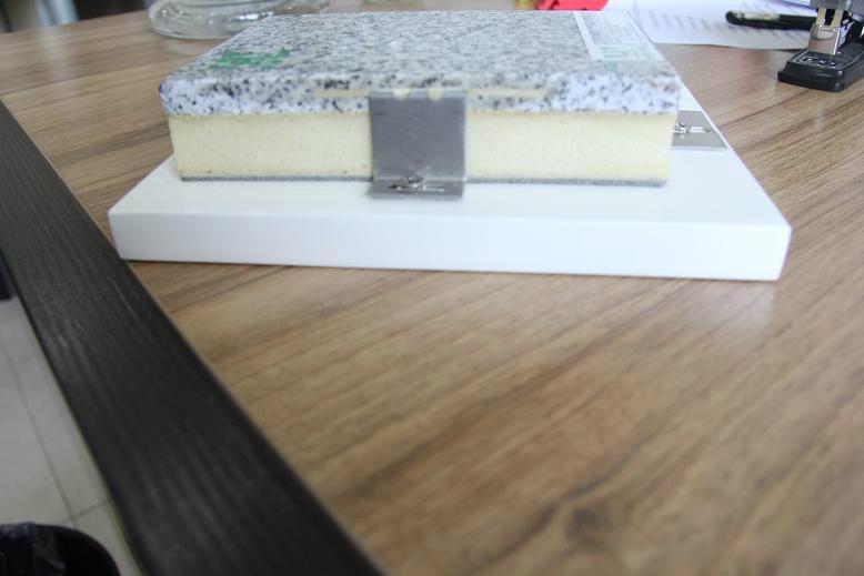 供应芝麻白保温装饰一体化板(聚氨酯)厂家包工包料价格