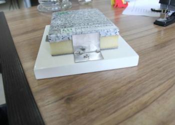 芝麻白保温装饰一体化板图片