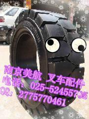 供应南京叉车轮胎空心及实心