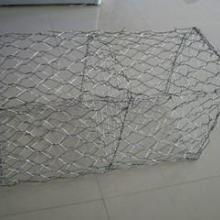 锌铝合金石笼网片 石笼网,装石头网箱,挡土墙网笼,石笼网箱