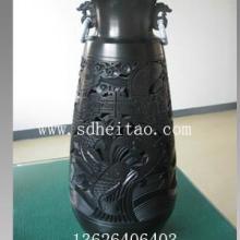 供应山东外事礼品黑陶工艺品