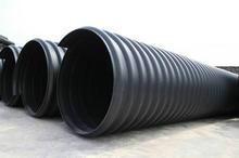 吕梁大口径PE钢带增强排污管图片