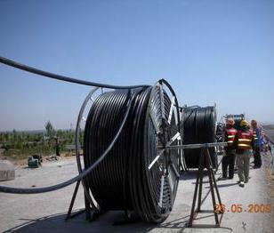 南宫通讯光缆HDPE硅芯管图片