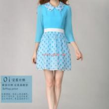 供应修身显瘦连衣裙,显瘦韩版连衣裙