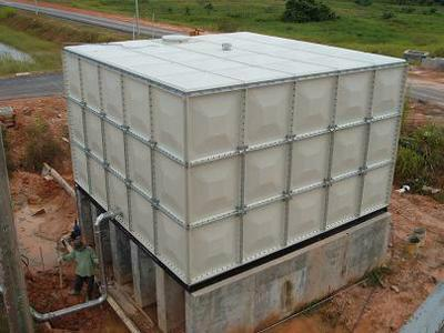 供应河北玻璃钢水箱图片