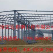 青岛钢结构厂房车间设计施工图片