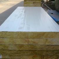 供应潍坊10公分阻燃岩棉复合板岩棉复合板生产厂家岩棉板材料价格