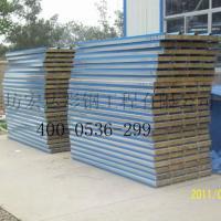 潍坊宏达彩钢供应隔音性彩钢复合板、防火性岩棉复合板、金属雕花板